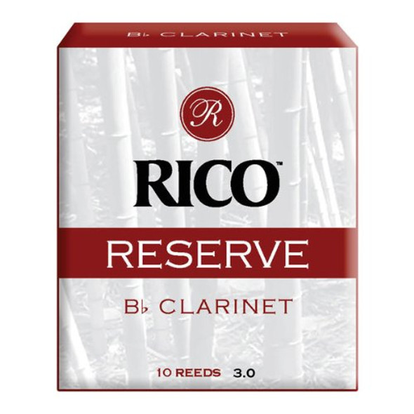 D'addario Reserve Bb Clarinet Reeds, Box of 10
