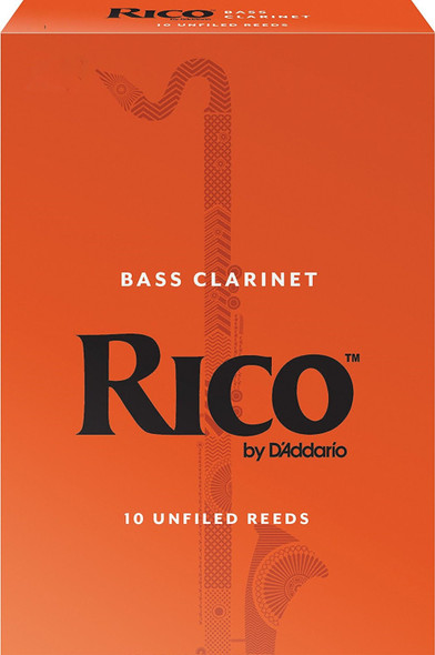 Rico Bass Clarinet Reeds Pack of 25