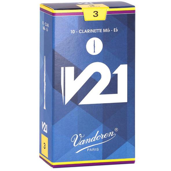 Vandoren Eb Clarinet V21 Reeds