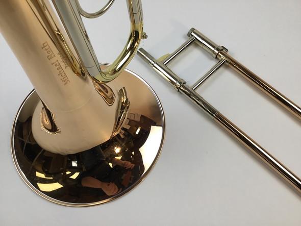 Used Rath R90 Bb/F/D Contrabass Trombone (SN: 046B)