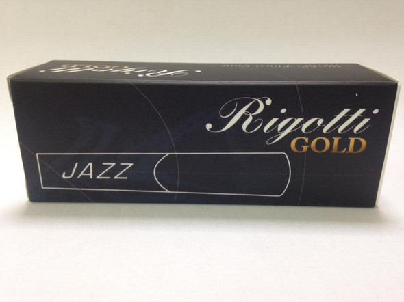 Rigotti Gold Jazz Baritone Saxophone Reeds 1.5 Box of 5