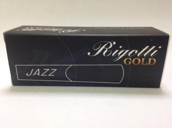 Rigotti Gold Jazz Baritone Saxophone Reeds Size 5 Box of 5