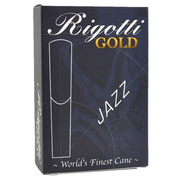 Rigotti Gold Jazz Alto Saxophone Reeds Size 5