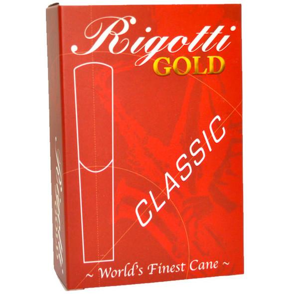 Rigotti Gold Classic Alto Saxophone Reeds Size 1