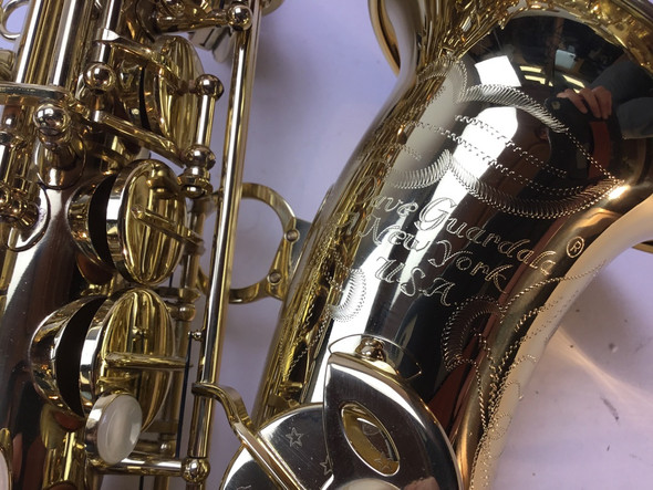 Used Dave Guardala New York Model Alto Saxophone (SN: 359315)