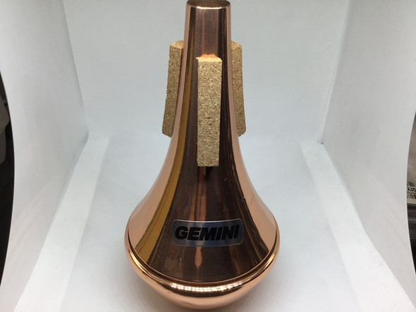 Demo Tom Crown Gemini Trumpet Mute Straight All Copper [21706]