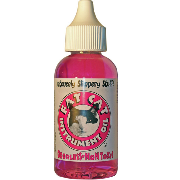 Fat Cat Valve Oil 2oz Bottle