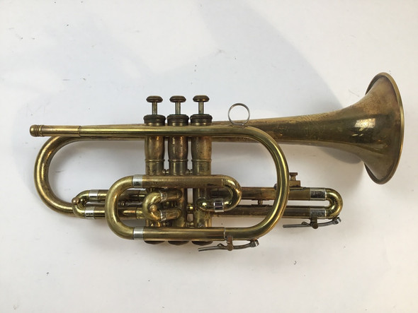 Used Olds Ambassador Bb Cornet (SN: 171846)