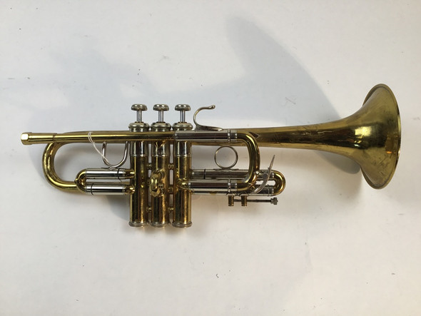 Used Bach model 304 Eb ONLY Trumpet (SN: 67599)