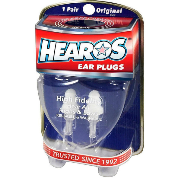 Hearos High Fidelity ( Musican's ) Ear Plugs