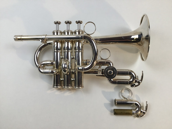 Used Yamaha YTR-9820 Bb/A Piccolo Trumpet (SN: 779562)