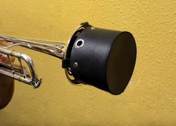 Eazy Bucket Trumpet Mute Leather