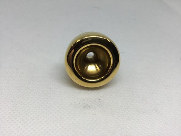 Used Austin Custom Brass HH* trumpet top, gold plate [169]