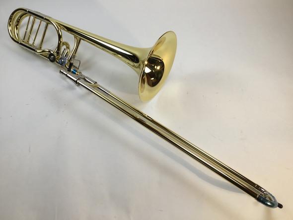 Demo Getzen Bb/F/Gb/D 1052FD Bass Trombone Yellow Brass Bell (SN: 2709)