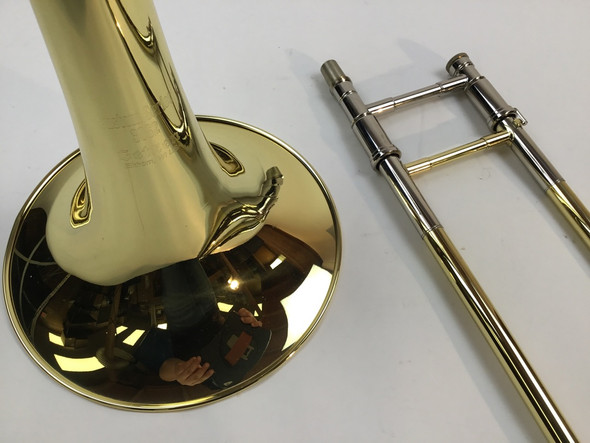 Demo Getzen 3062AF Bb/F/Gb/D Bass Trombone Yellow Brass Bell (SN: 3175)