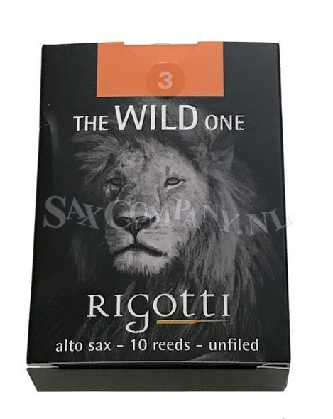 Rigotti WILD JAZZ Alto Saxophone Reeds