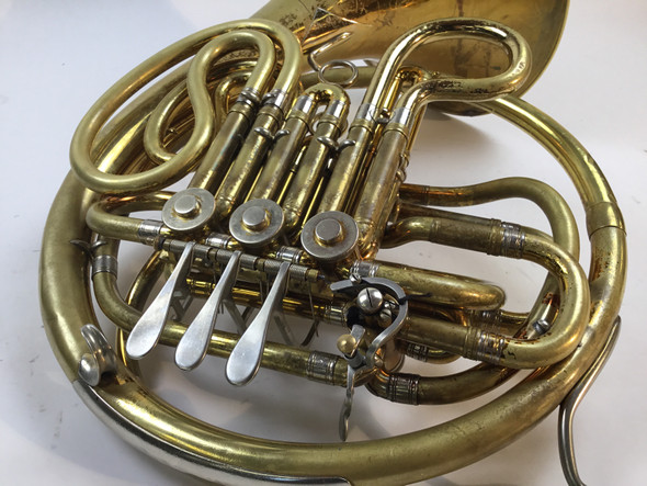Used King 1159 Double French horn (SN: 343993)