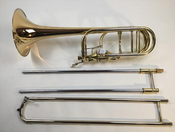 Used Princeton T-9502-FDM Bb/F/Gb/D Bass Trombone (458)