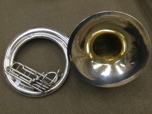 Used King 1250 BBb sousaphone (SN: 78090)