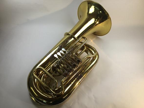 Used Mirafone BBS186-4V BBb tuba (SN: 15072)
