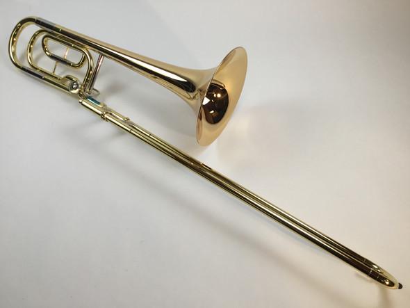 Demo Yamaha YBL-421G Bb/F Bass Trombone  (SN: 719096)
