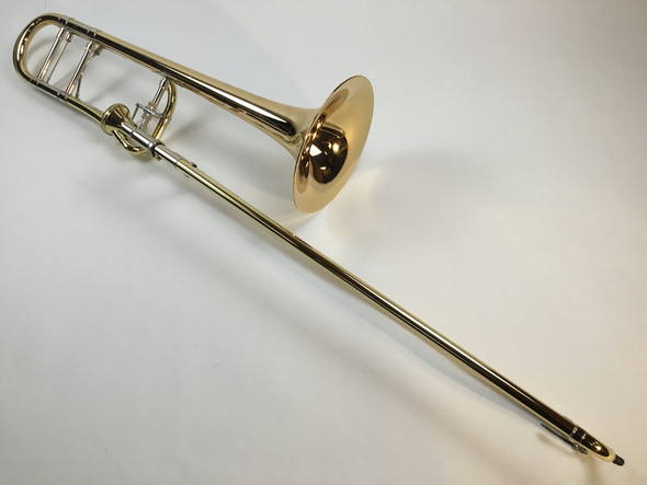 Demo Bach Artisan Model A47I Bb/F Tenor Trombone (SN: 206593)
