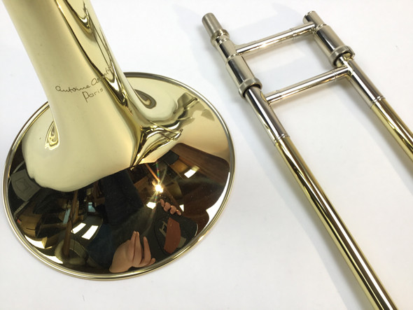 Demo Courtois Legend AC420BO-1-0 Bb/F Tenor Trombone (SN: 456454)