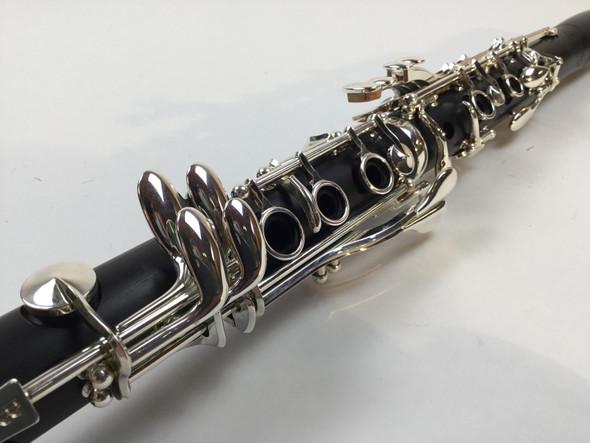 Demo Backun Beta Bb Clarinet Nickel Keys (SN: BA916)