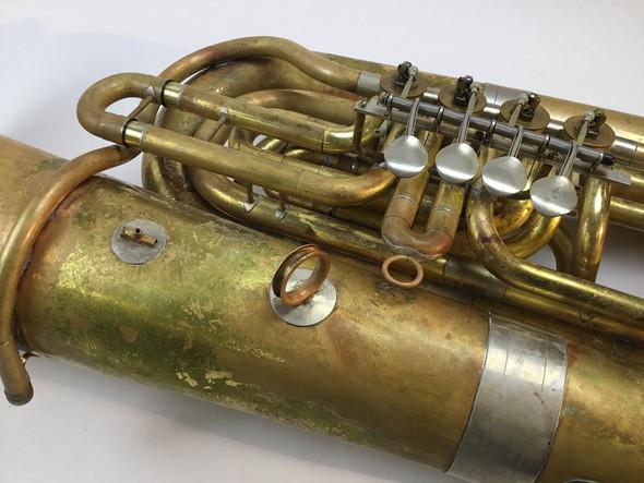 Used Sear 681-4 BBb tuba (SN: 341)