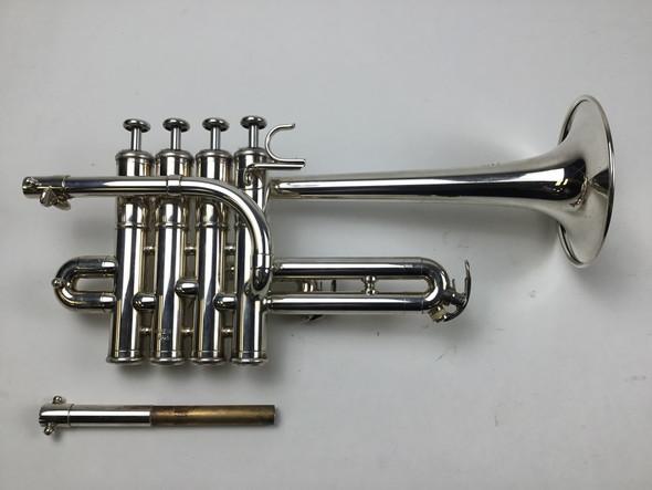 Used Yamaha YTR-9830 Bb/A Piccolo Trumpet (SN: 676815)