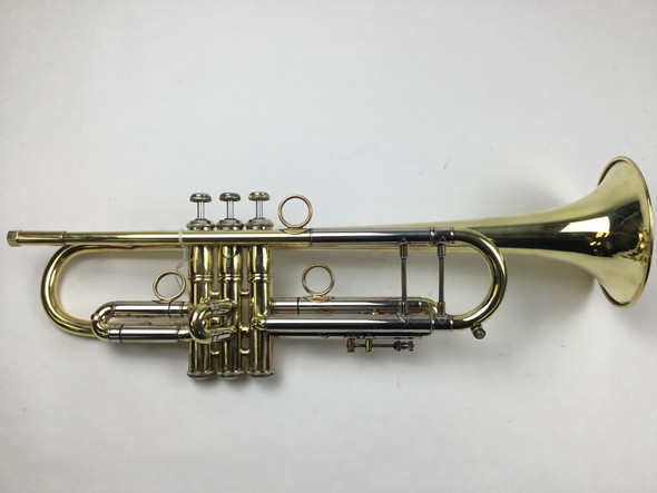 Used Bach 43 Bb Trumpet (SN: 184486)