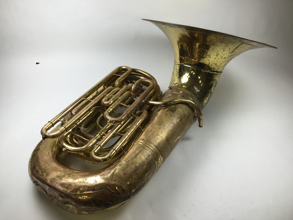 Used Conn 24J BBb tuba (SN: H25476)