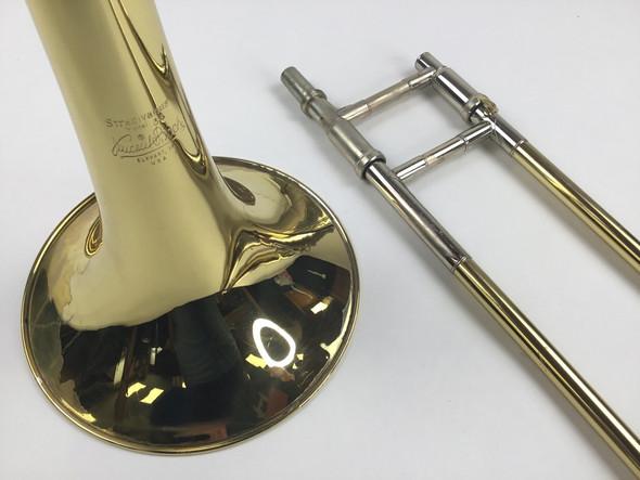 Used Bach 36BO Bb/F Tenor Trombone (SN: 163285)