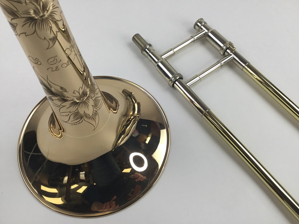 Used Shires Bb/F Tenor Trombone (SN: 6801)