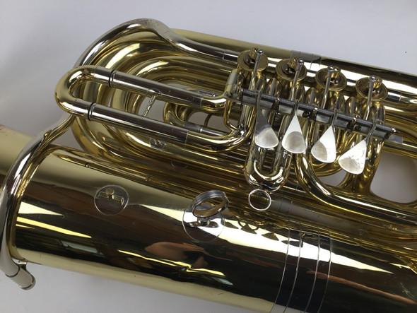 Used Cerveny CBB681-4V BBb tuba (SN: 206691)