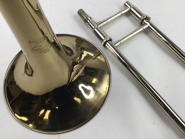 Used Bach LT42BGO Bb/F Tenor Trombone (SN: 102030)