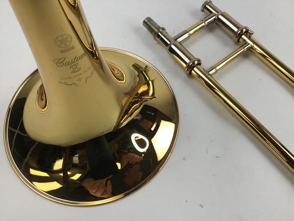 Used Yamaha YSL-891Z Bb Tenor Trombone (SN: 675267)