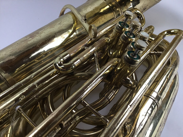 Used Reynolds Contempora BBb tuba (SN:218655)