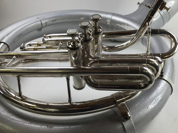 Used Jupiter Fiber Brass Sousaphone (SN: K05012)