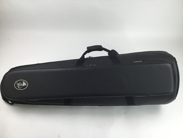 Used Marcus Bonna Tenor Trombone Soft Case, Black Leather
