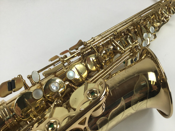 Used Selmer Super Action 80 Series II Alto Saxophone (SN: N.434528)