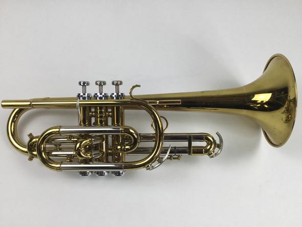 Used Getzen Deluxe Model Bb Cornet (SN: 93494)