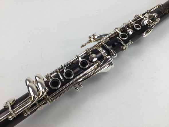 Used Buffet R13 (silver keys) A Clarinet (SN:498524)