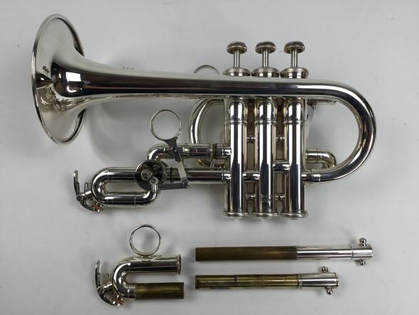 Used Yamaha YTR-9820 Bb/A Piccolo Trumpet (SN: 753314)