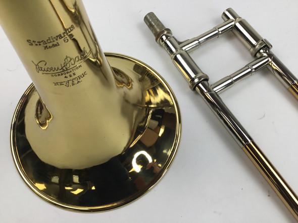 Used Bach NY Model 8/6 Hybrid Bb Tenor Trombone (SN: 1865)