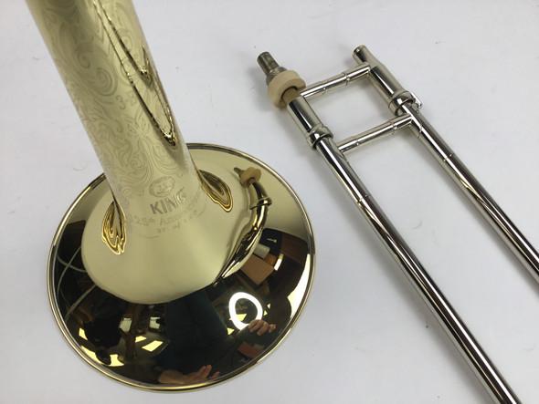 "Used King 3B ""125th Anniversary"" Bb Tenor Trombone (SN: 564470)"