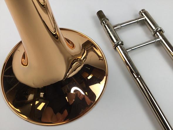 Used Yamaha YSL-648R Bb/F Tenor Trombone (SN: 202425)