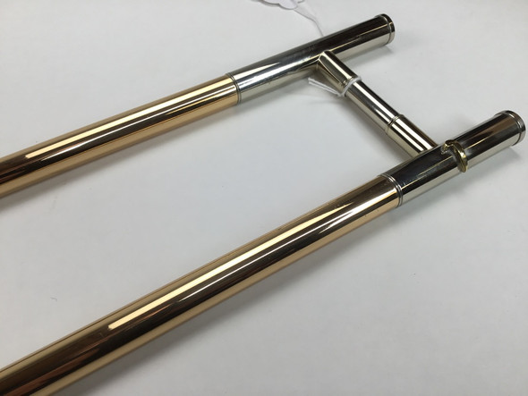 Used Shires T47 Gold Brass Outer Slide ONLY