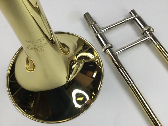 Used Bach 42B Bb/F Tenor Trombone (SN: 170374)