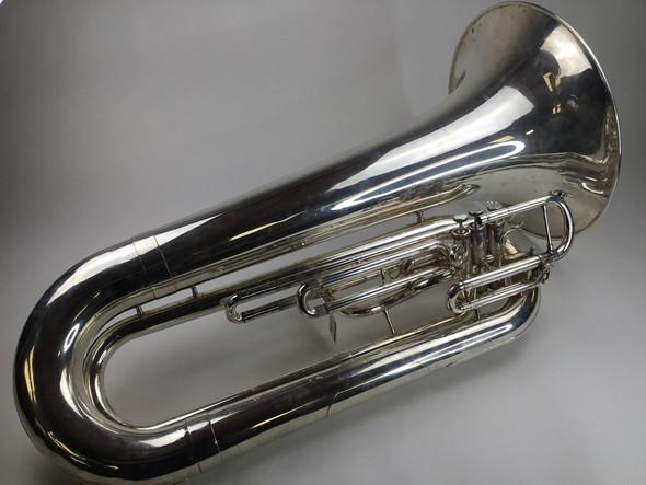 Used Yamaha YBB-202MSWC Marching Tuba (SN: 484394)